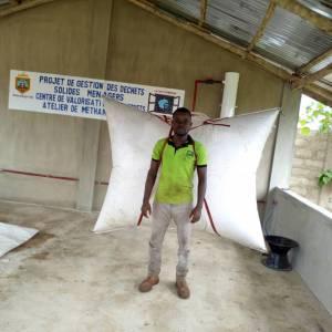 Casa Grande Bénin ; Atelier de méthanisation